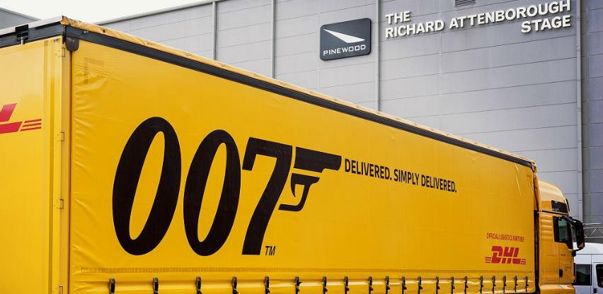 DHL logistički partner novog filma James Bond