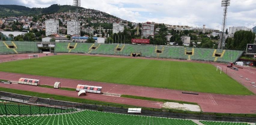 Stadion Koševo se dodjeljuje FK Sarajevo na 30 godina po cijeni od 1 KM mjesečno