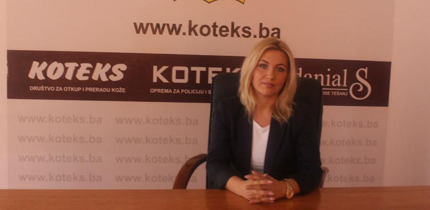 Adisa Karahodžić, direktorica Koteksa: Kvalitet nam je na prvom mjestu