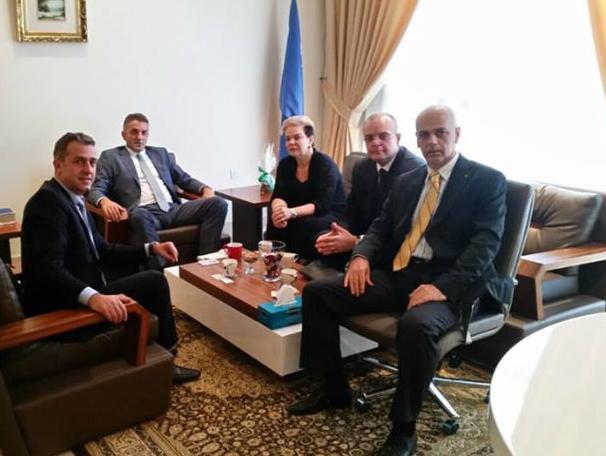 Bh. privredna delegacija posjetila Ambasadu BiH u Abu Dhabiju