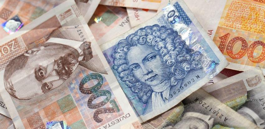 Prosječna neto plaća u Hrvatskoj iznosila je 6.276 kuna