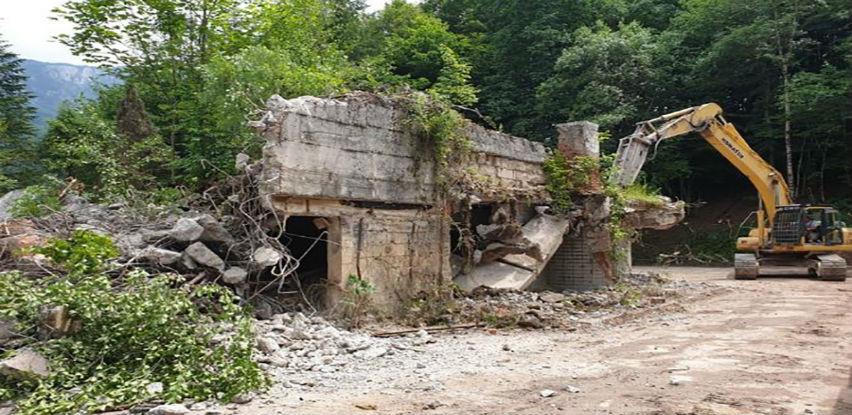 Počela obnova nekadašnje Titove vile u Nacionalnom parku Sutjeska