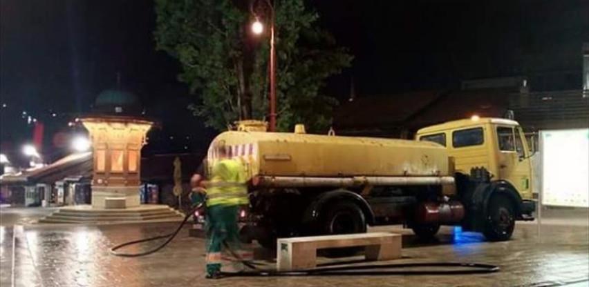 Preduzeće Rad svakodnevno čisti i pere ulice i javne površine u KS-u
