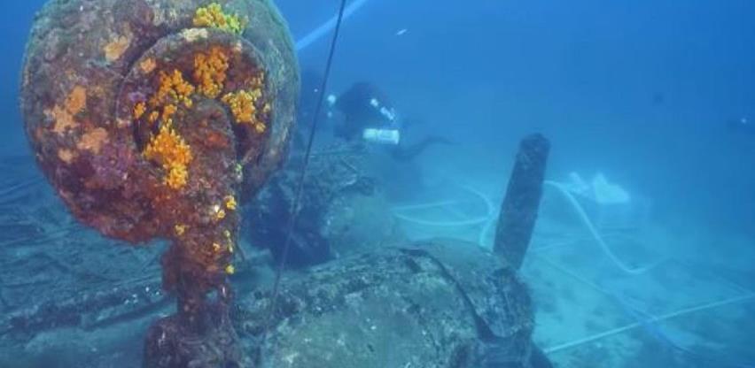 U moru kod Visa pronađena olupina bombardera iz Drugog svjetskog rata