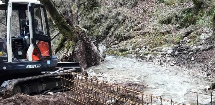 Realizovan projekat zaštite izvorišta Šanica u Jablanici