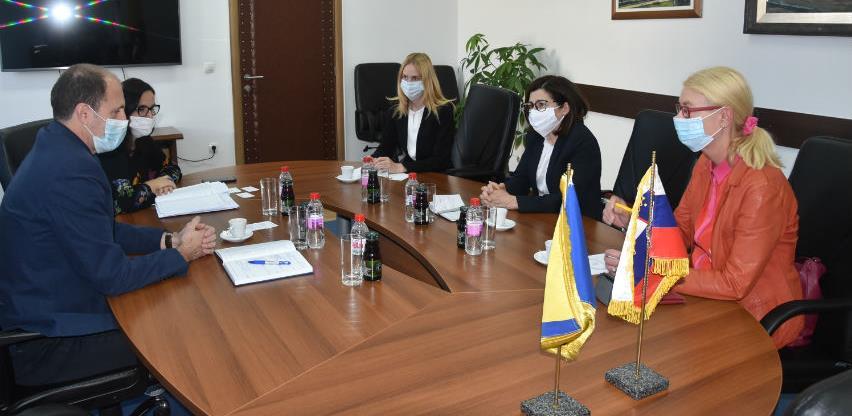 Nenadić-Bukinac: Postoji mnogo potencijala za saradnju Slovenije, BiH i KS