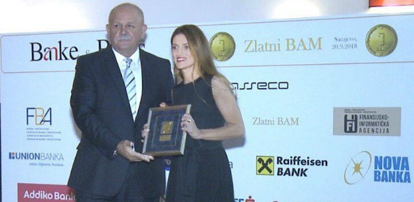 Dva Zlatna BAM-a za Raiffeisen banku