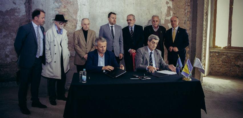 Potpisan ugovor o obnovi Olimpijskog muzeja u Sarajevu