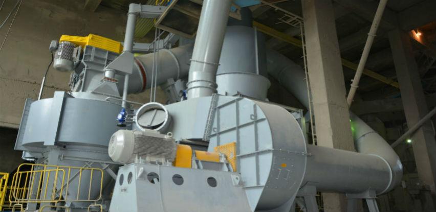 Tvornica cementa Kakanj pustila u pogon noviseparator