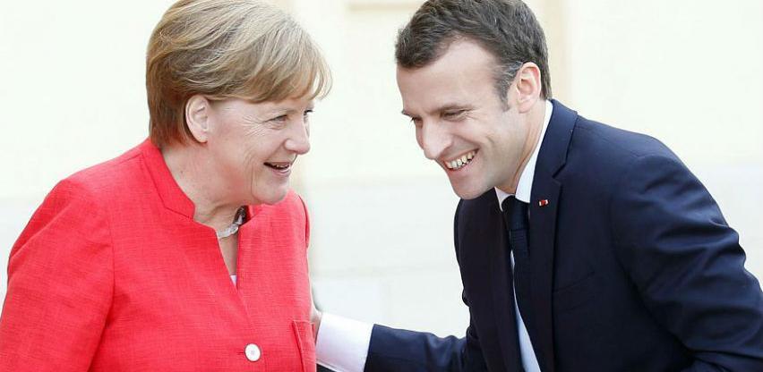 Merkel i Macron: U aprilu konferencija o Balkanu, u Berlin pozvani lideri