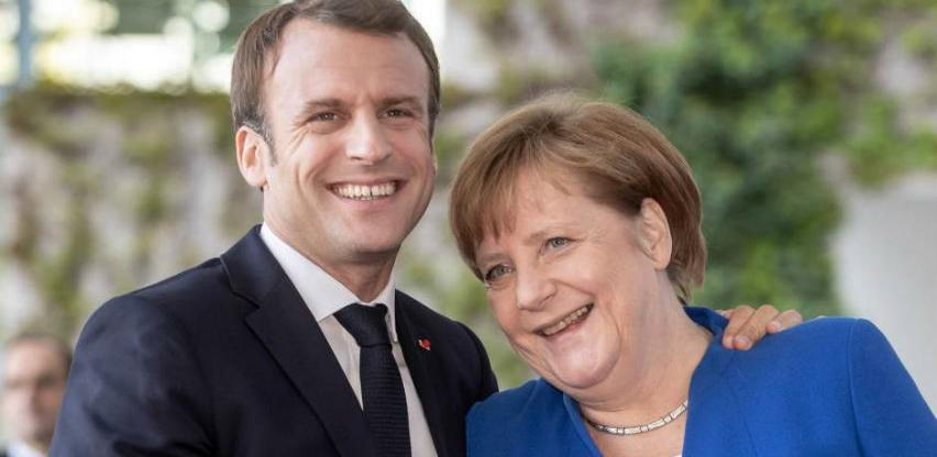 Macron želi vidjeti Merkel na čelu Europske komisije