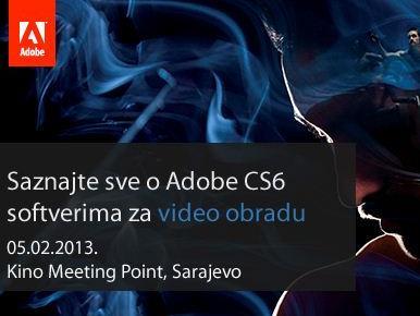 Prezentacija softvera za video obradu Adobe Creative Suite 6