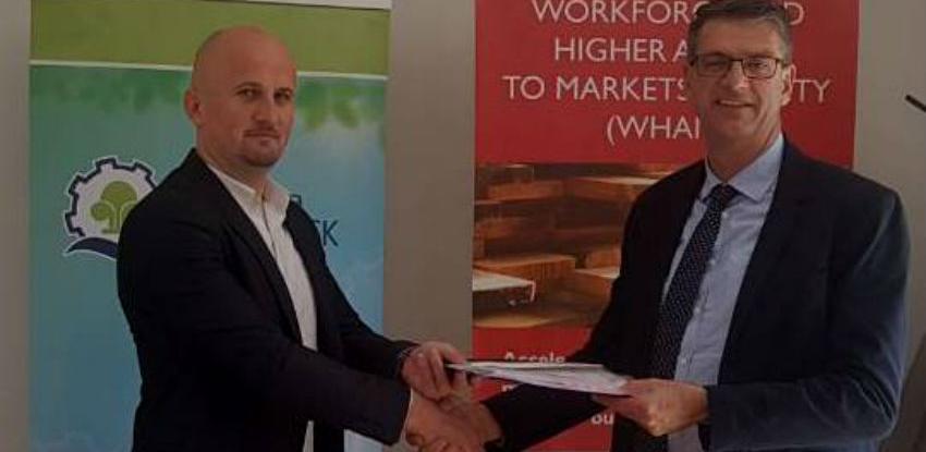 PK USK potpisala Ugovor u okviru Projekta razvoja radne snage - WHAM
