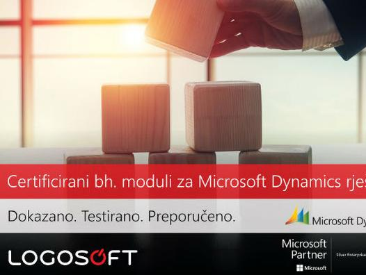 Microsoft Dynamics NAV, svjetski poznata poslovna ERP aplikacija je i za verziju NAV 2016 dobila zvaničnu lokalizaciju za Bosnu i Hercegovinu.