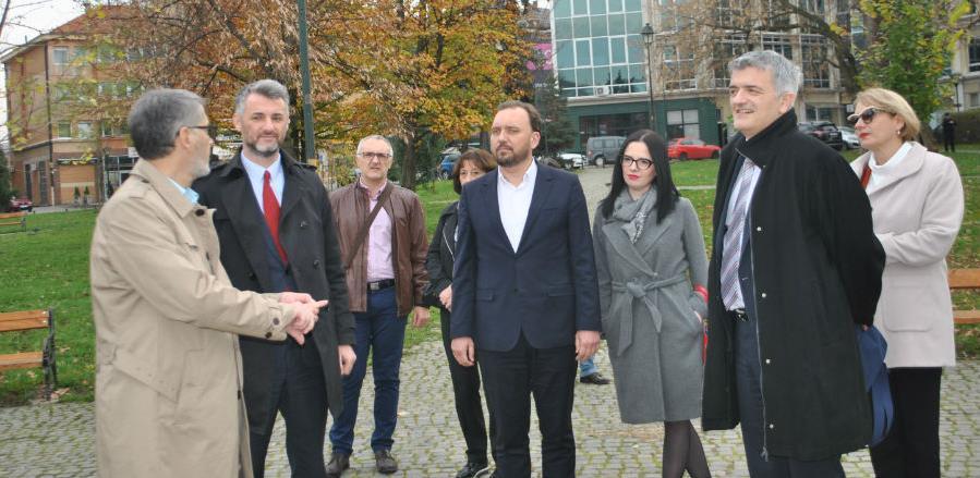 Forto najavio podršku u obnovi objekta DTV 'Partizan' - Kreka u Tuzli