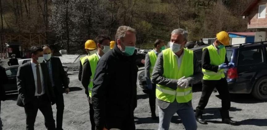 Novalić na gradilištu tunela Hranjen: Investicije pokreću ekonomski život