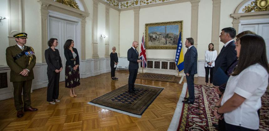 Novoimenovani britanski ambasador u BiH preuzeo dužnost