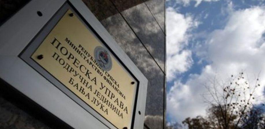 Poreska uprava RS sumnja na utaju 1,1 milion KM