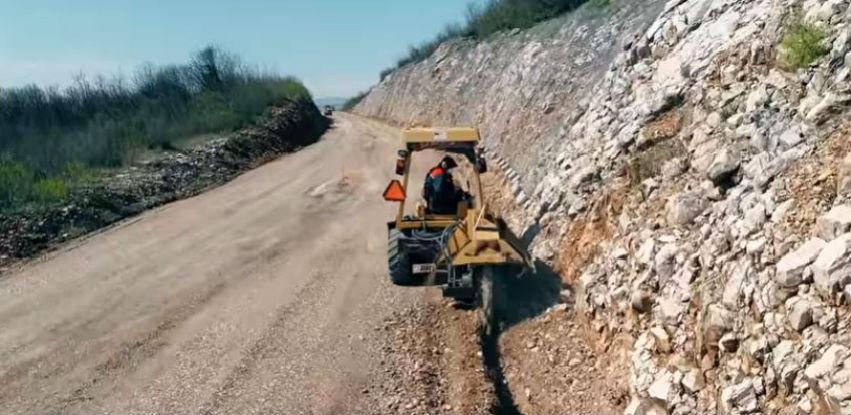 Pogledajte kako teku radovi na izgradnji južne obilaznice Mostara