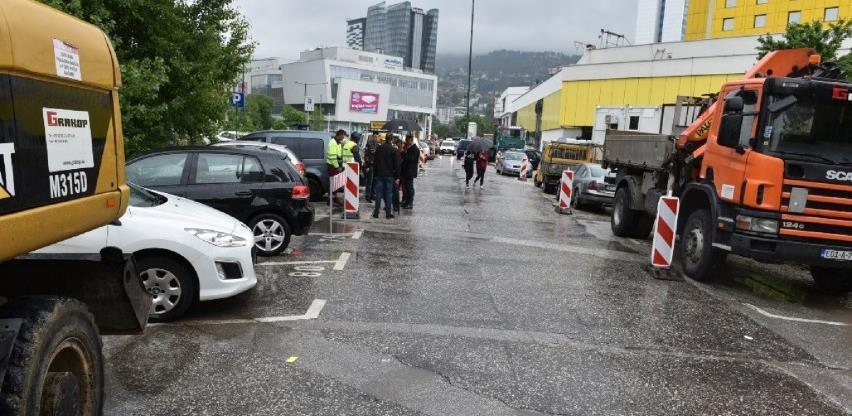 Započela sanacija dijela Ulice Franca Lehara na Marijin dvoru