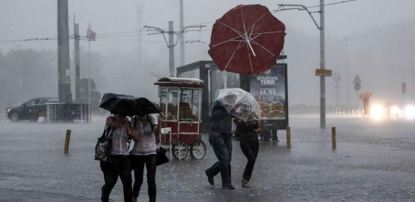 Izdato narandžasto i žuto upozorenje zbog vremenskih prilika u BiH