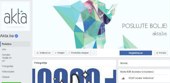 """Popularna """"plava kvačica""""koju vam Facebook dodijeli je vid garancije kompanije u pogledu autentičnosti Facebook stranice."""