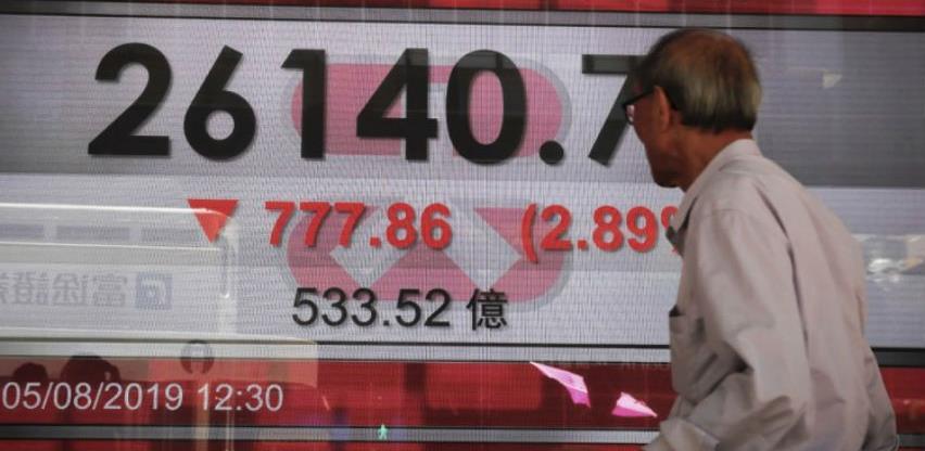 Azijska tržišta - Indeksi pali, cijene nafte skaču