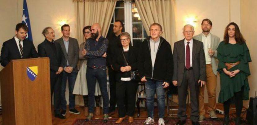Diplomatskim predstavnicima u Oslu predstavljena djela bh. umjetnika