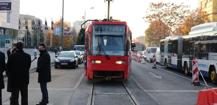 Okončana sanacija tramvajske pruge na Marijin Dvoru