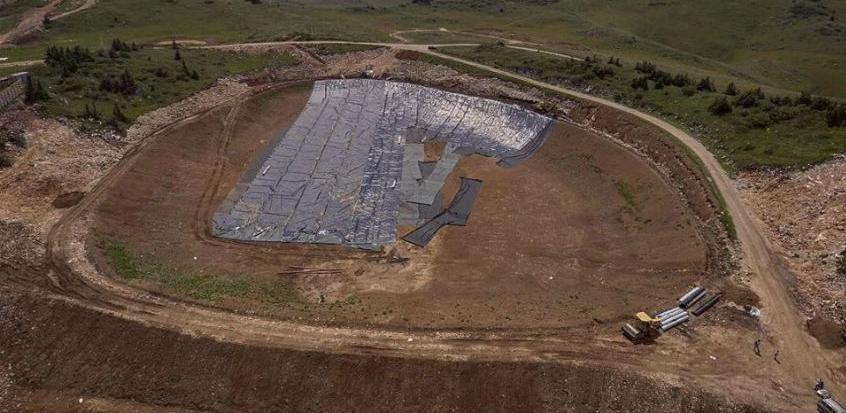 U toku završna faza radova na izgradnji vještačkog jezera na vrhu Jahorine