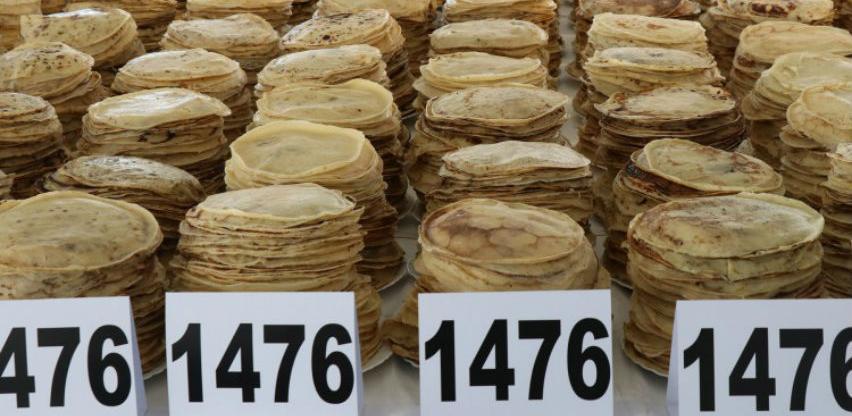 Oboren Guinnessov rekord u najvećem serviranju palačinaka