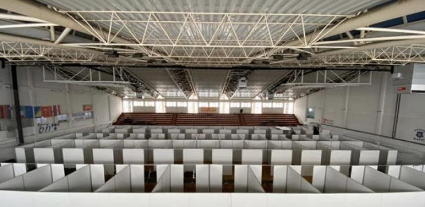 Sportska dvorana u Cazinu pretvorena u opremljeni izolatorij