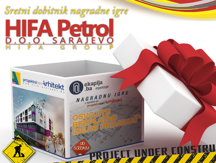 HIFA Petrol dobitnik besplatnog idejnog projekta od 5.000KM