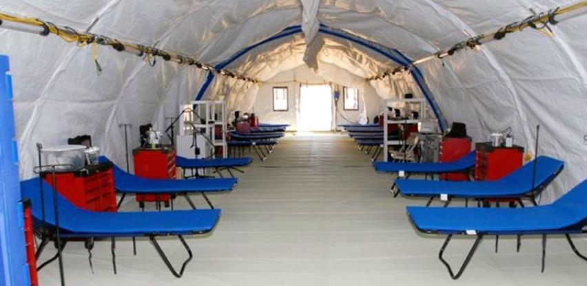 Pokretna bolnica Vlade RS vrijedna 3,6 mil. KM nakon pandemije ide u magacin