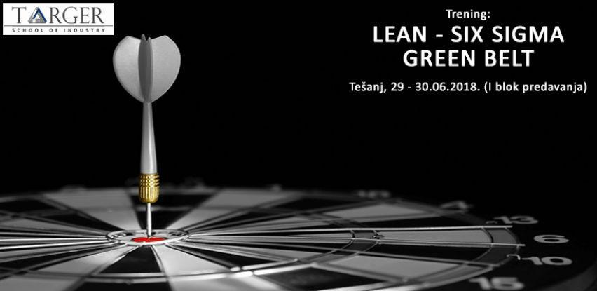 Targer SoI trening: LEAN – SIX SIGMA GREEN BELT