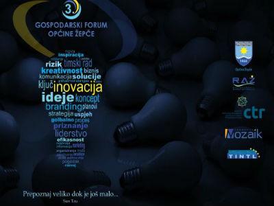 U Žepču Gospodarski forum o inovacijama u poduzetništvu