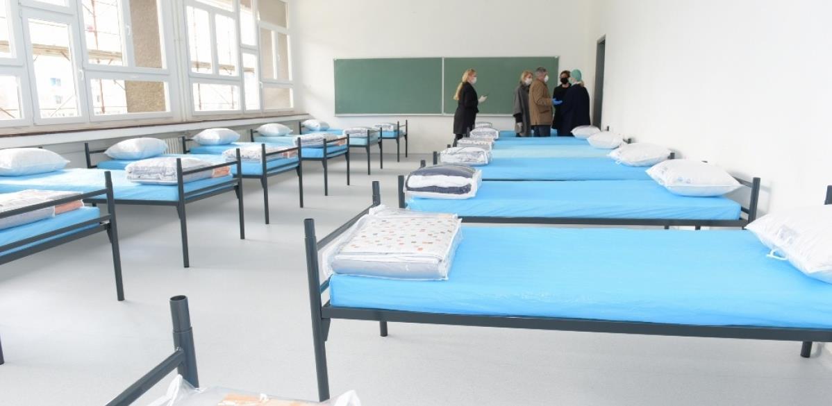 Nužda ili presedan: Završeno opremanje izolatorija na GFS-u za 200 pacijenata