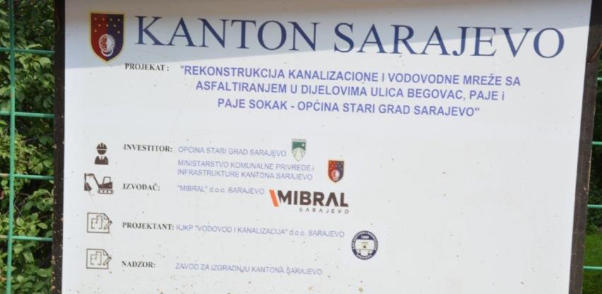 Mahmutovac dobija novu vodovodnu i kanalizacionu mrežu, projekat od 1,3 mil. KM