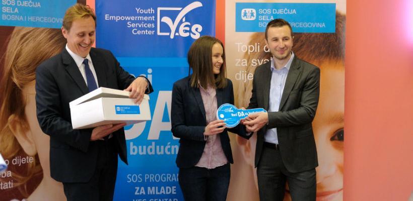 "U prostorijama SOS Centra ""Hermann Gmeiner"" otvoren centar za mlade - YES"
