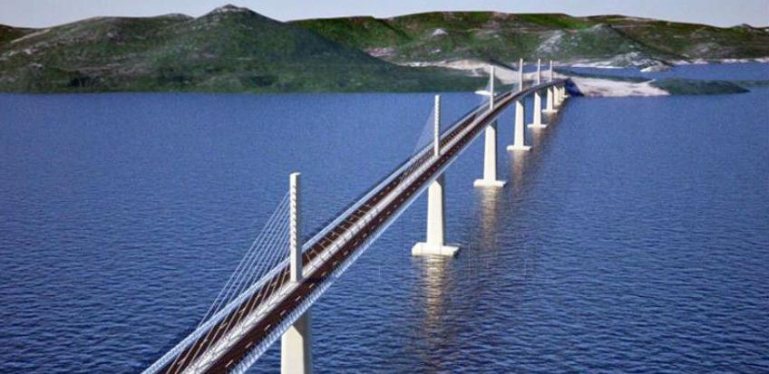 Sredinom jula kreću radovi na izgradnji Pelješkog mosta