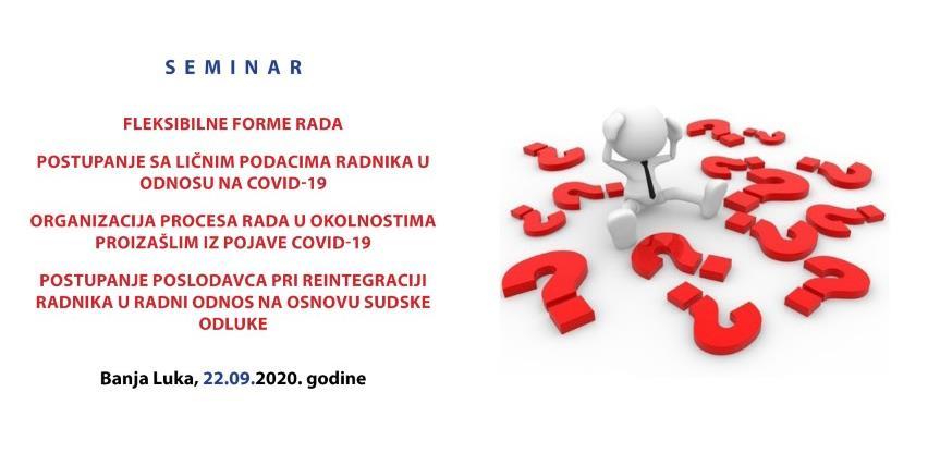 REC seminar - Radni odnosi u Republici Srpskoj