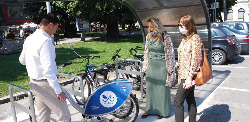 "Banjaluka dobila nove bicikle za ""Bl bajk"" i parking za dvotočkaše"