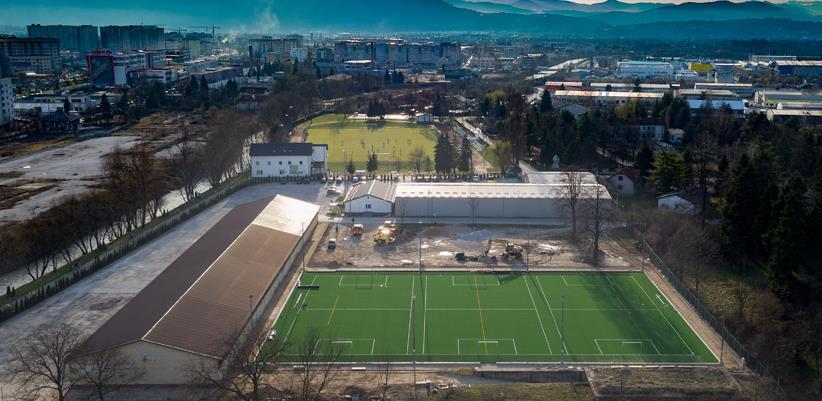 """Pri kraju izgradnja stadiona sa umjetnom travom u Centru """"Safet Zajko"""""""