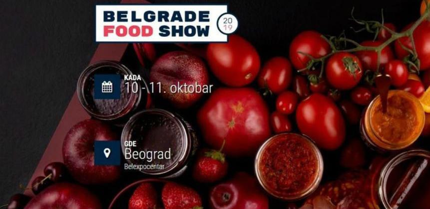 """VTKBiH: Poziv za učešće na sajmu """"Belgrade Food Show 2019"""""""