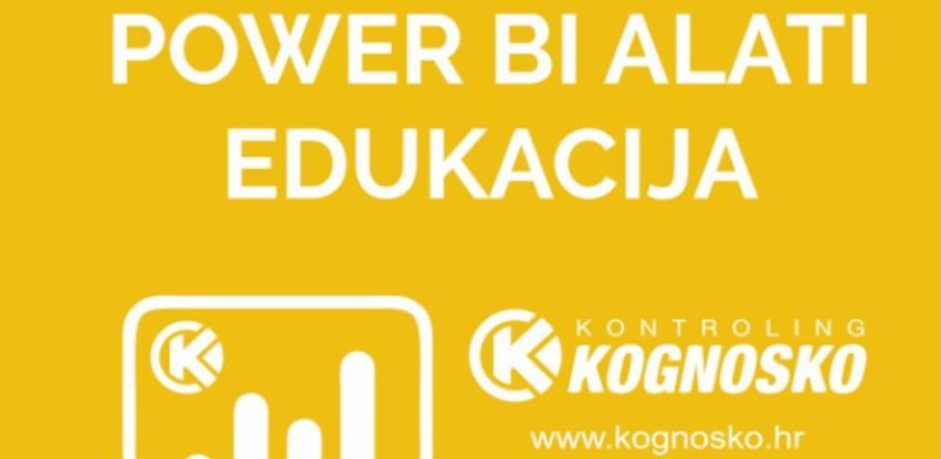 Power BI alati - dvodnevna edukacija 23. grupe polaznika u centru Kognosko