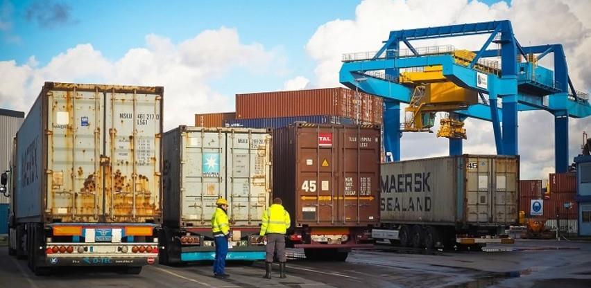 Izvoz iz BiH u januaru porastao za 2,9 posto