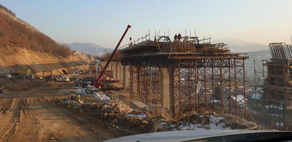 Pogledajte kako napreduju radovi na izgradnji obilaznice oko Zenice (Foto)