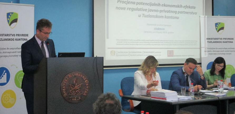 Predstavljen model javno-privatnog partnerstva za Tuzlanski kanton
