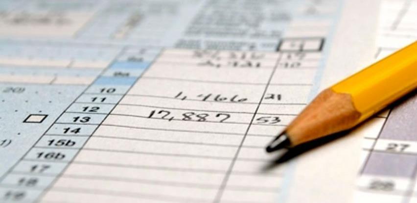 Porezni obveznici FBiH uplatili 4.795.651.583 KM javnih prihoda
