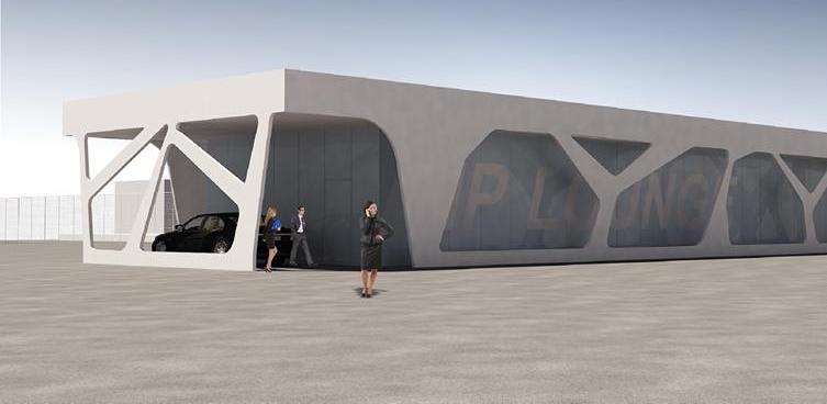 Na Međunarodnom aerodromu Sarajevo nastavljeni radovi na izgradnji VIP salona
